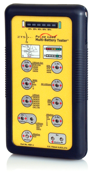 Multi Battery Tester : Posthorn zts mbt multi battery tester